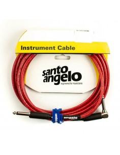 Cable instrumento 4.5 metros Angel L Crystal Rojo Santo Angelo