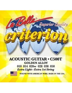Encordado Guitarra Acustica C500T La Bella