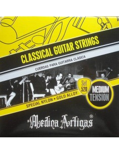 Encordado Guitarra Clasica 520BK Medina Artigas