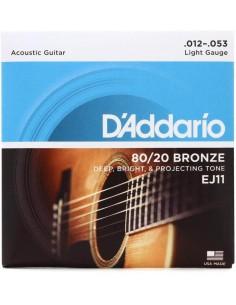 Encordado Guitarra Acustica EJ11 D´addario