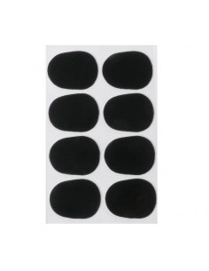 Set de Protectores Negro para Boquilla Saxo Alto 0.8mm Musicparts
