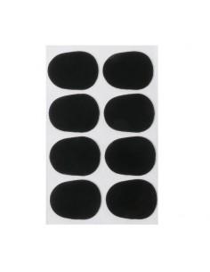 Set de Protectores Negro para Boquilla Saxo Alto 0.5mm Musicparts
