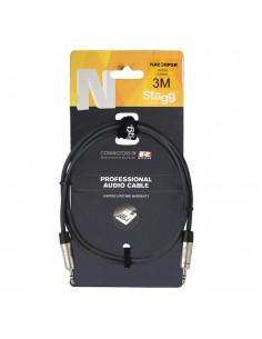 Cable audio Mini Plug a Mini Plug 3 metros Stagg