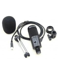 Microfono condensador USB SMC22B Carver Pro