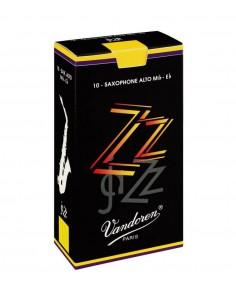 Caja 10 cañas saxo alto N° 2 1/2 Jazz Vandoren