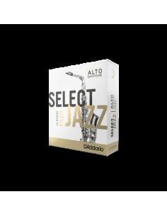 Caja 10 cañas saxo alto N° 3M Select Jazz D´addario