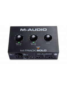 Interfaz USB Mtrack Solo M-Audio