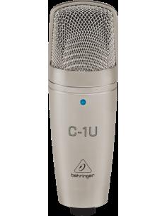 Microfono Condensador USB C1U Behringer