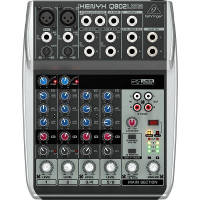 Mixer Q802USB Behringer