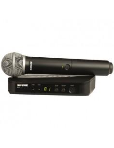 Microfono Inalambrico Mano BLX24/PG58 Shure