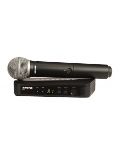 Microfono Inalambrico Mano BLX24/B58 Shure
