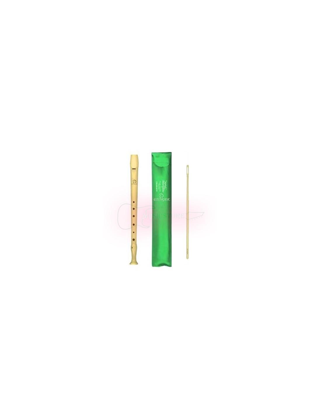 Flauta Dulce Soprano digitacion alemana B9508 Etinger