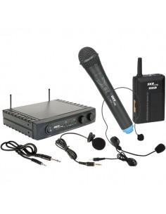 Microfono Inalambrico Mano, Lavalier o Cintillo UHF282 SKP