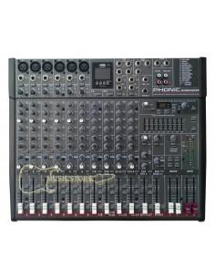 Mezclador AM642DP USB Phonic