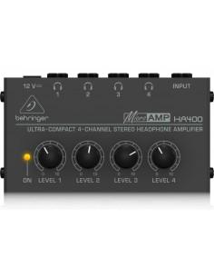 Amplificador de audifonos HA400 Behringer
