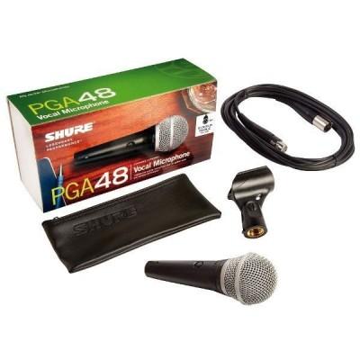 Microfono vocal PGA48XLR Shure