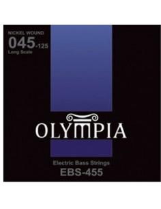 Encordado Bajo Electrico EBS455 Olympia