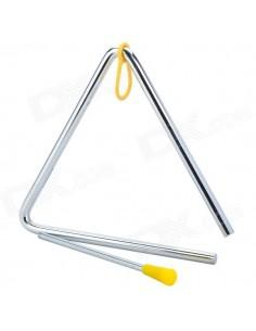 Triangulo 10 pulgadas con mazo