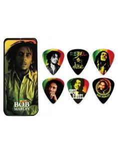 Pack uñetas Bob Marley BOBPT01M Dunlop