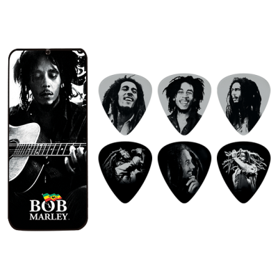 Pack uñetas Bob Marley BOBPT03M Dunlop