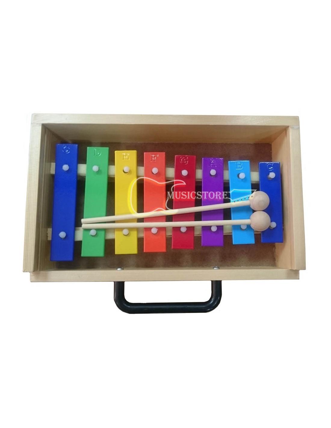 Metalofono 8 Notas Color RMX