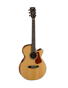 Guitarra Electro Acustica L100F NAT Cort