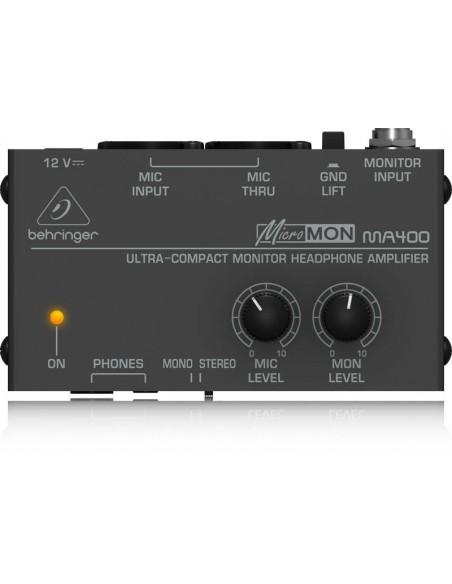 Amplificador de monitoreo MA400 Behinger