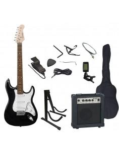 Pack guitarra electrica PAC9BK Scorpion