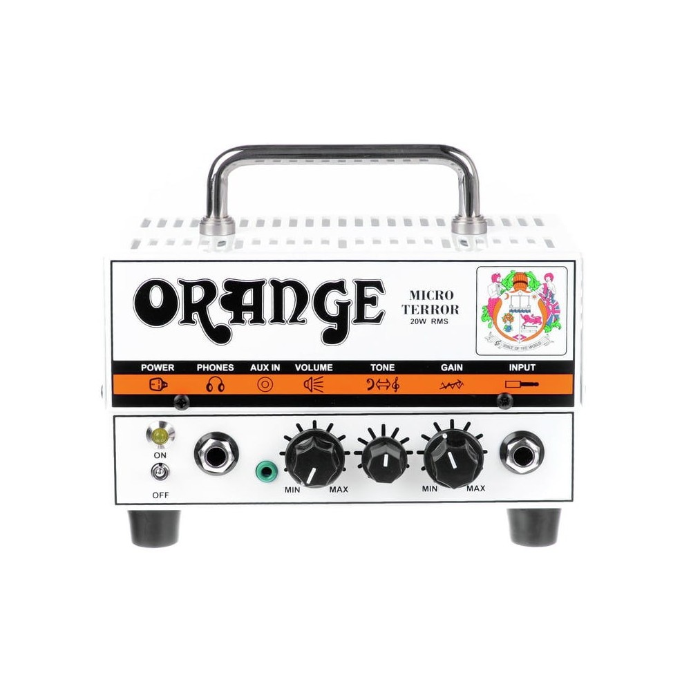 Cabezal Micro Terror 20 watts Orange