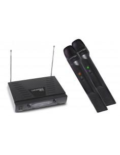 Sistema inalambrico doble VHF PCA609 Carver Pro