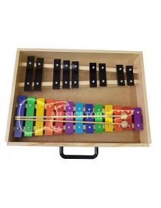Metalofono Cromatico 22 Notas color Musicstore