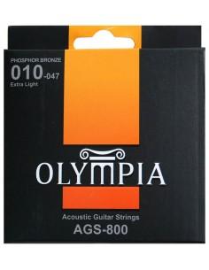 Encordado Guitarra Acustica AGS800 Olympia