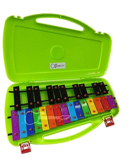 Metalofono Cromatico 25 Notas Color RMX