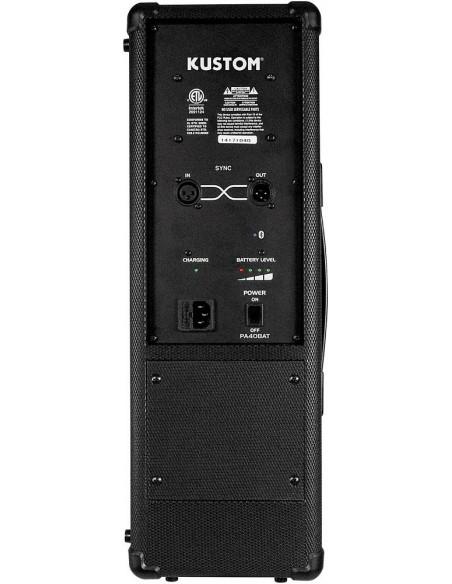 Caja acustica portatil PA40BATBT Kustom