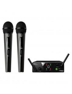 Microfono Inalambrico Mano Doble UHF WMS40 dual AKG