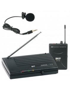 Micrófono Inalambrico Solapa VHF795 SKP Audio