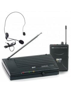 Microfono Inalambrico Cintillo VHF895 SKP Audio