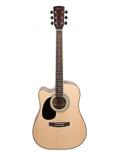 Guitarra Electro Acustica Zurda AD880CE LH Cort