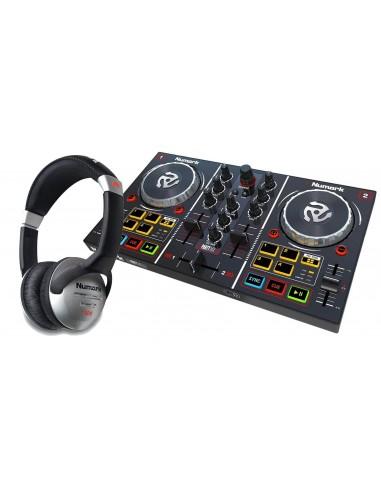 Controlador Dj Party Mix Numark + Audifono HF125 Numark