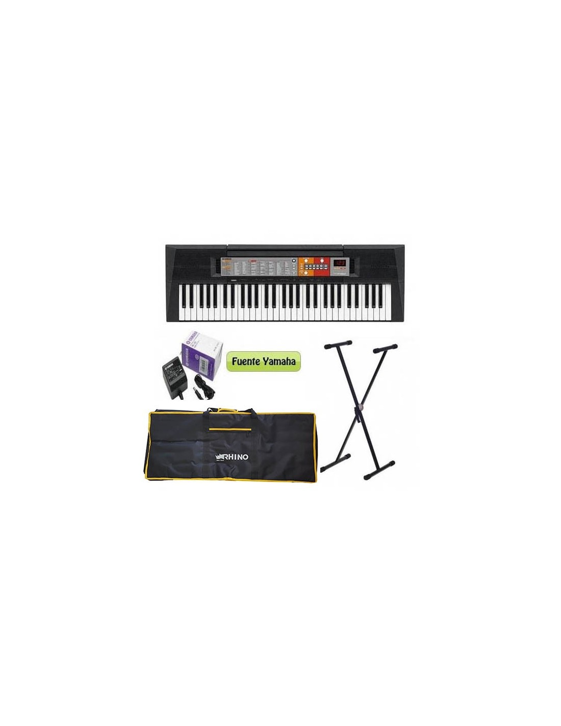 Pack Teclado PSR-F51 + Atril + Funda Yamaha