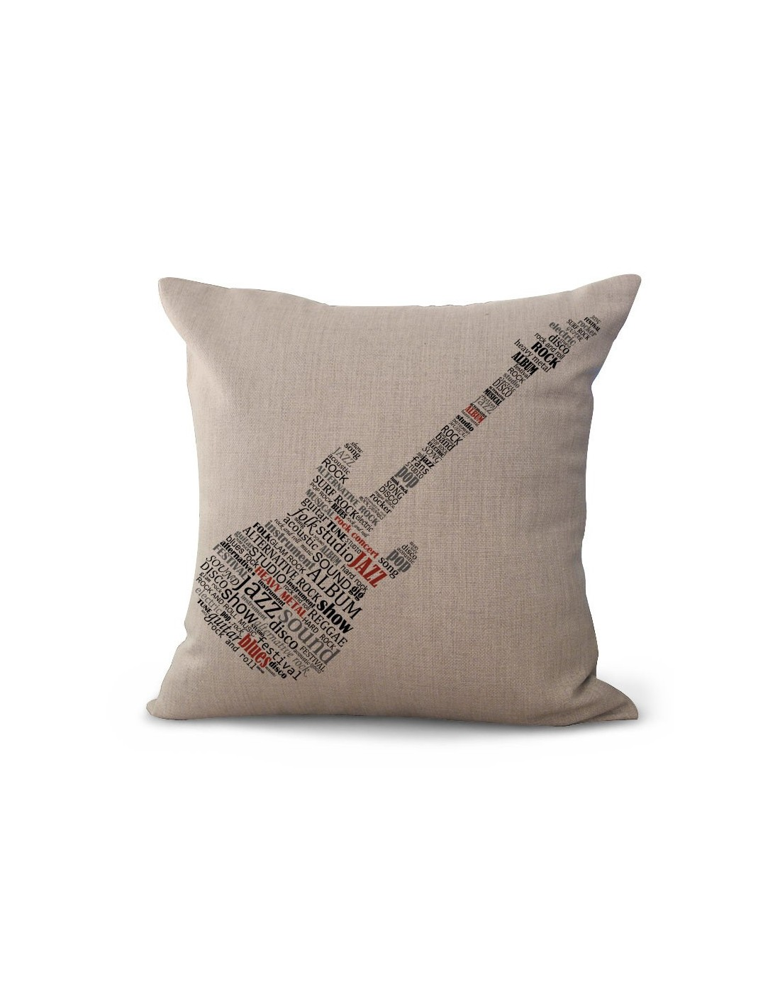 Funda con Almohada Guitar Musicdesing
