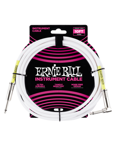 Cable instrumento 3mts P06049 Ernie Ball