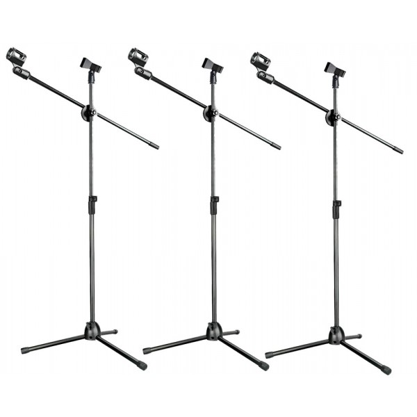 Set 3 Atriles de Microfonos NB1073 Fzone