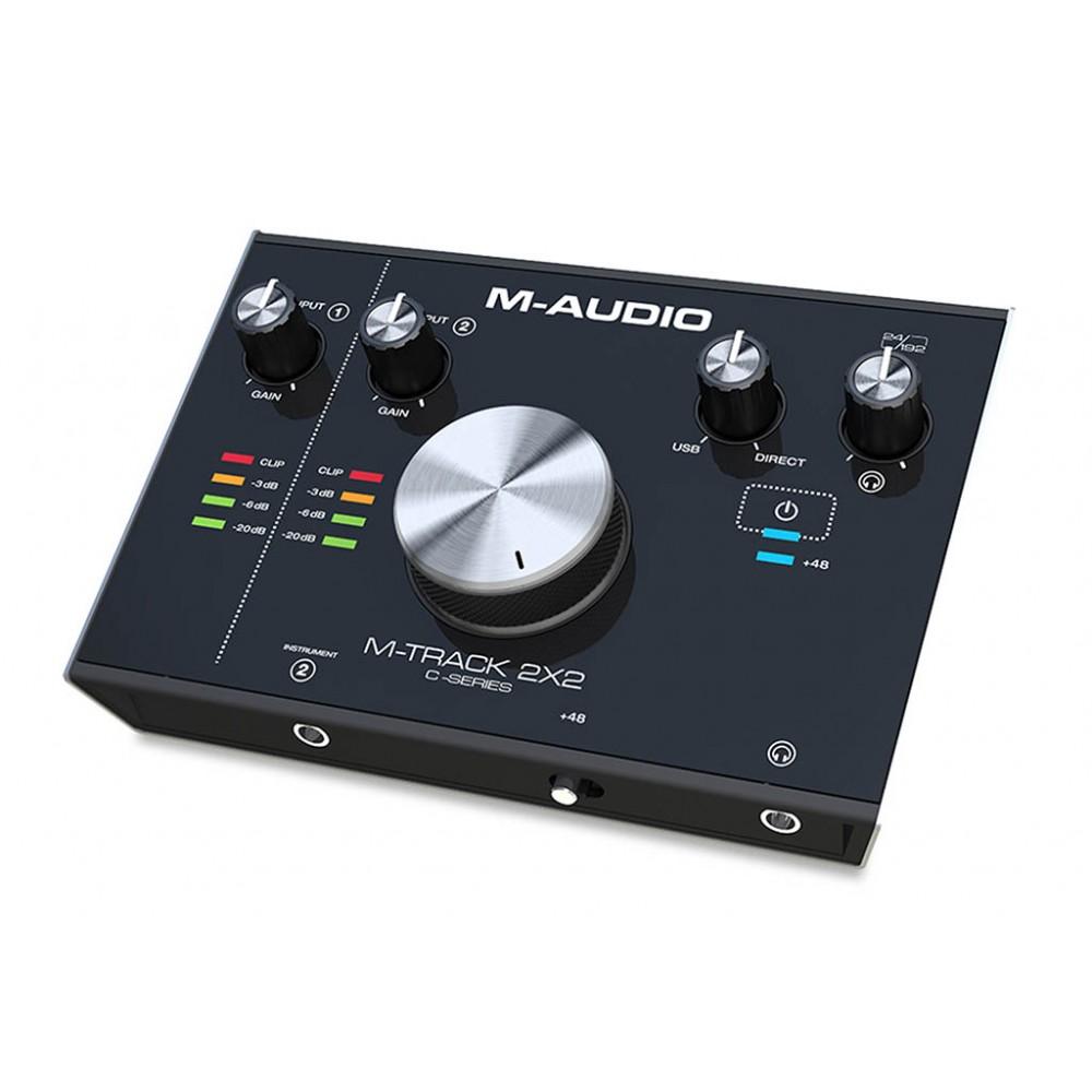 Interfaz USB Mtrack 2X2 M-Audio