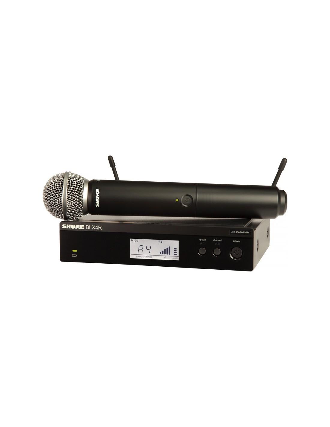 Microfono Inalambrico Mano BLX24R/SM58 Shure