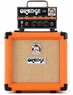 Cabezal Micro Dark Terror + Gabinete PPC108 Orange