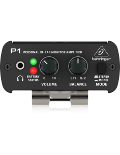 Powerplay P1 Amplfificador monitorei In-Ear Behringer