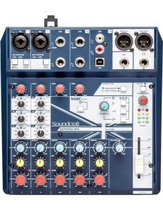 Mezclador Notepad 8FX Soundcraft