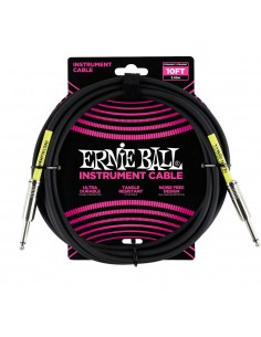 Cable instrumento 3 metros P06048 Ernie Ball