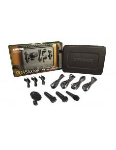 Kit microfonos bateria PGASTUDIOKIT4 Shure